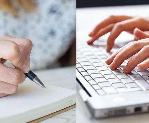 Писать полезнее, чем печатать!!!