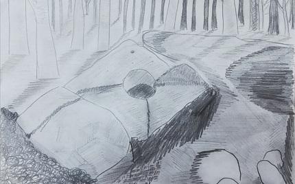Дольмен-рисунок